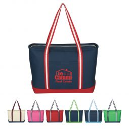 #CM 3236 Large Cotton Canvas Admiral Tote Bag
