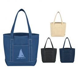 #CM 3251 Small Cotton Canvas Yacht Tote Bag