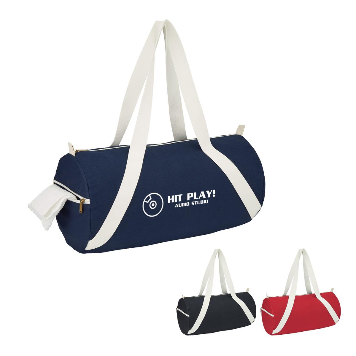 #CM 3260 Cotton Duffel Bag
