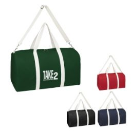 #CM 3261 Biggie Cotton Duffel Bag