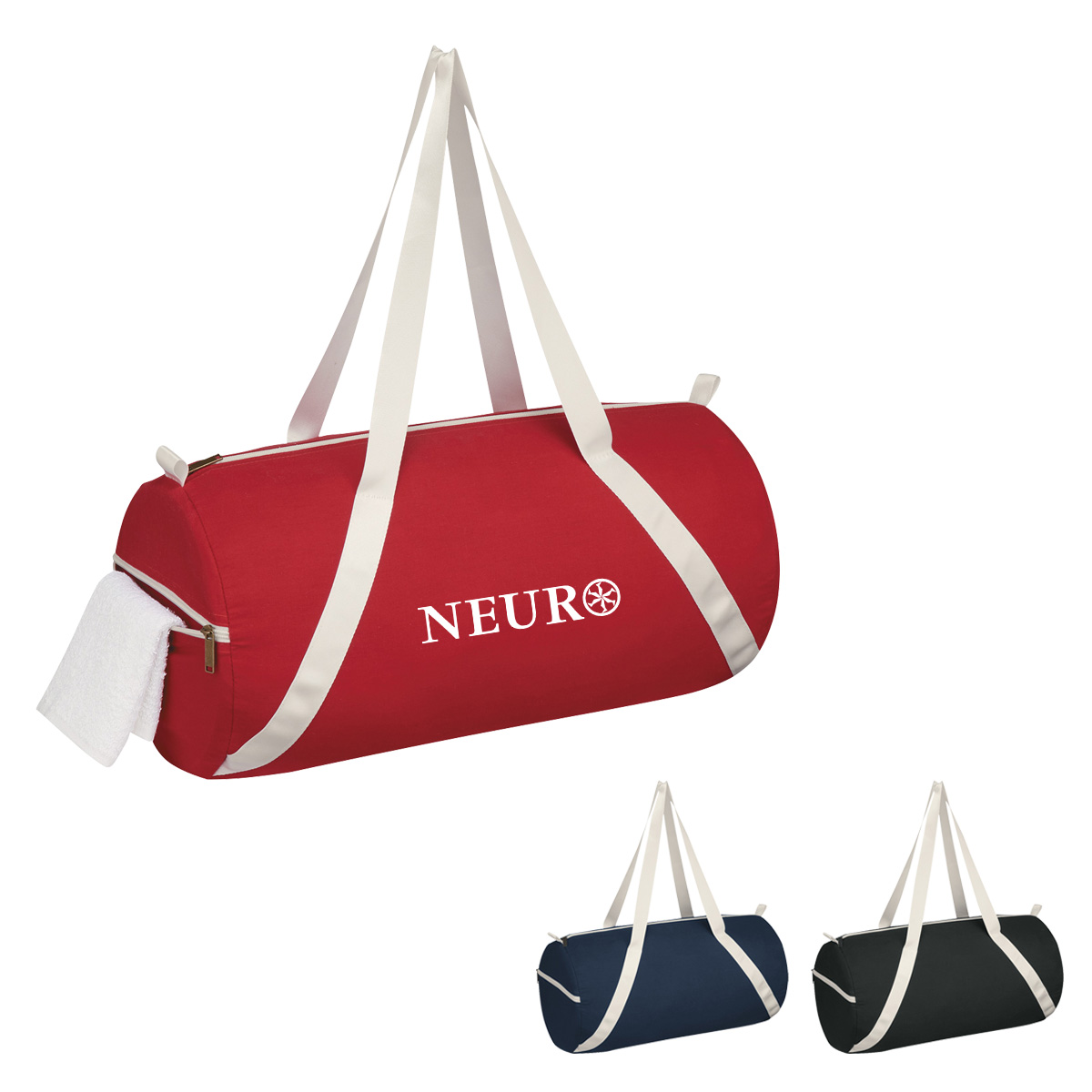 #CM 3269 Lightweight Cotton Duffel Bag