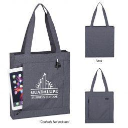 #CM 3295 Hidden Zipper Tote Bag