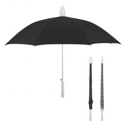 "#CM 4023 - 46"" Umbrella With Collapsible Cover"