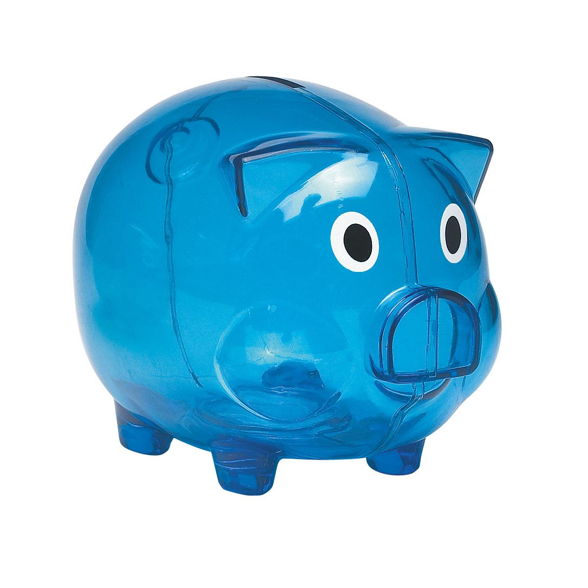 #CM 4062 Plastic Piggy Bank 1