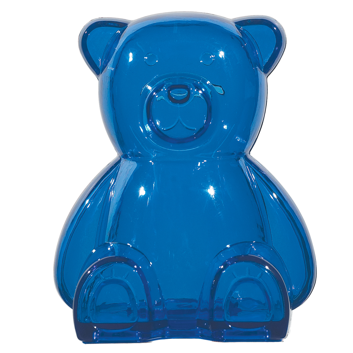 #CM 4063 Plastic Bear Shape Bank 1