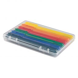 #CM 453 - 6-Piece Retractable Crayons In Case
