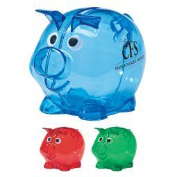 #CM 5062 Mini Plastic Piggy Bank