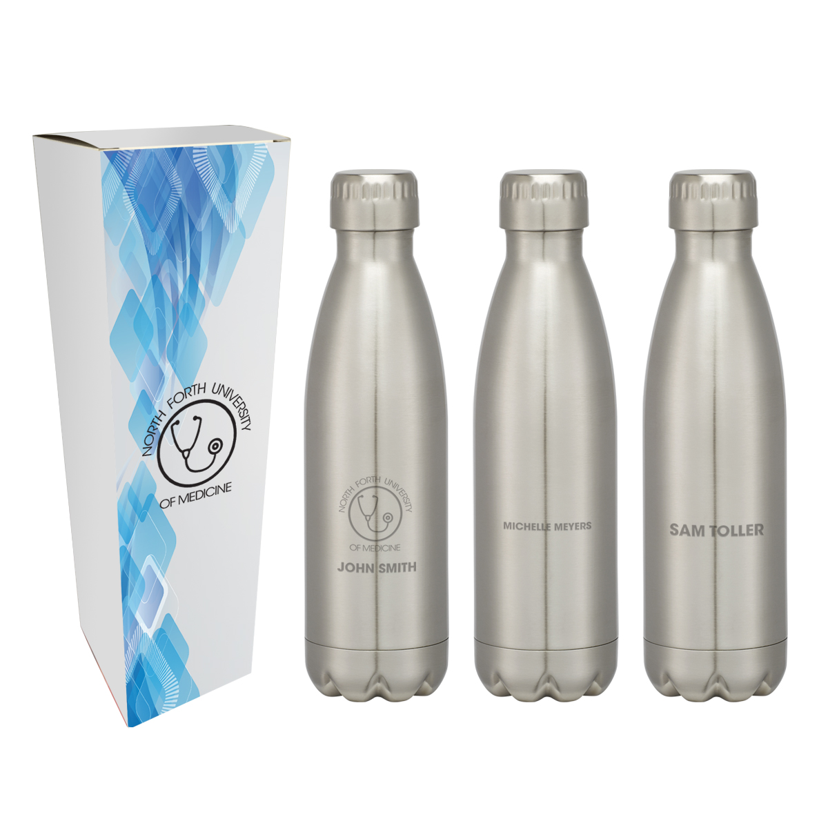 #CM 5706P - 16 Oz. Swig Stainless Steel Bottle With Custom Box