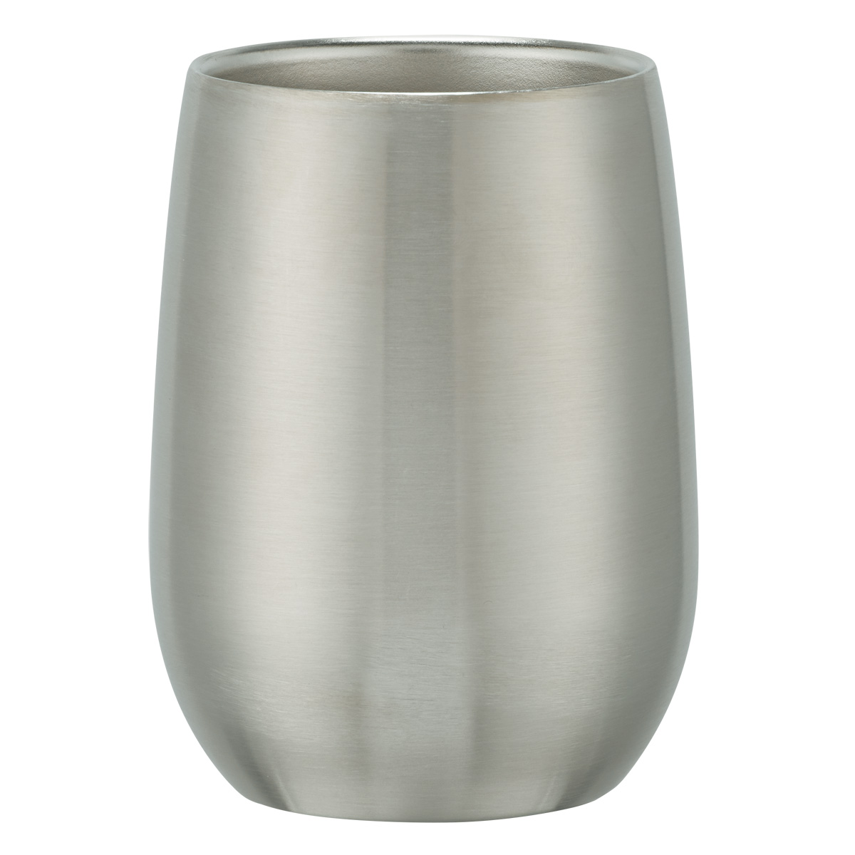 #CM 5728 - 9 Oz. Stainless Steel Stemless Wine Glass