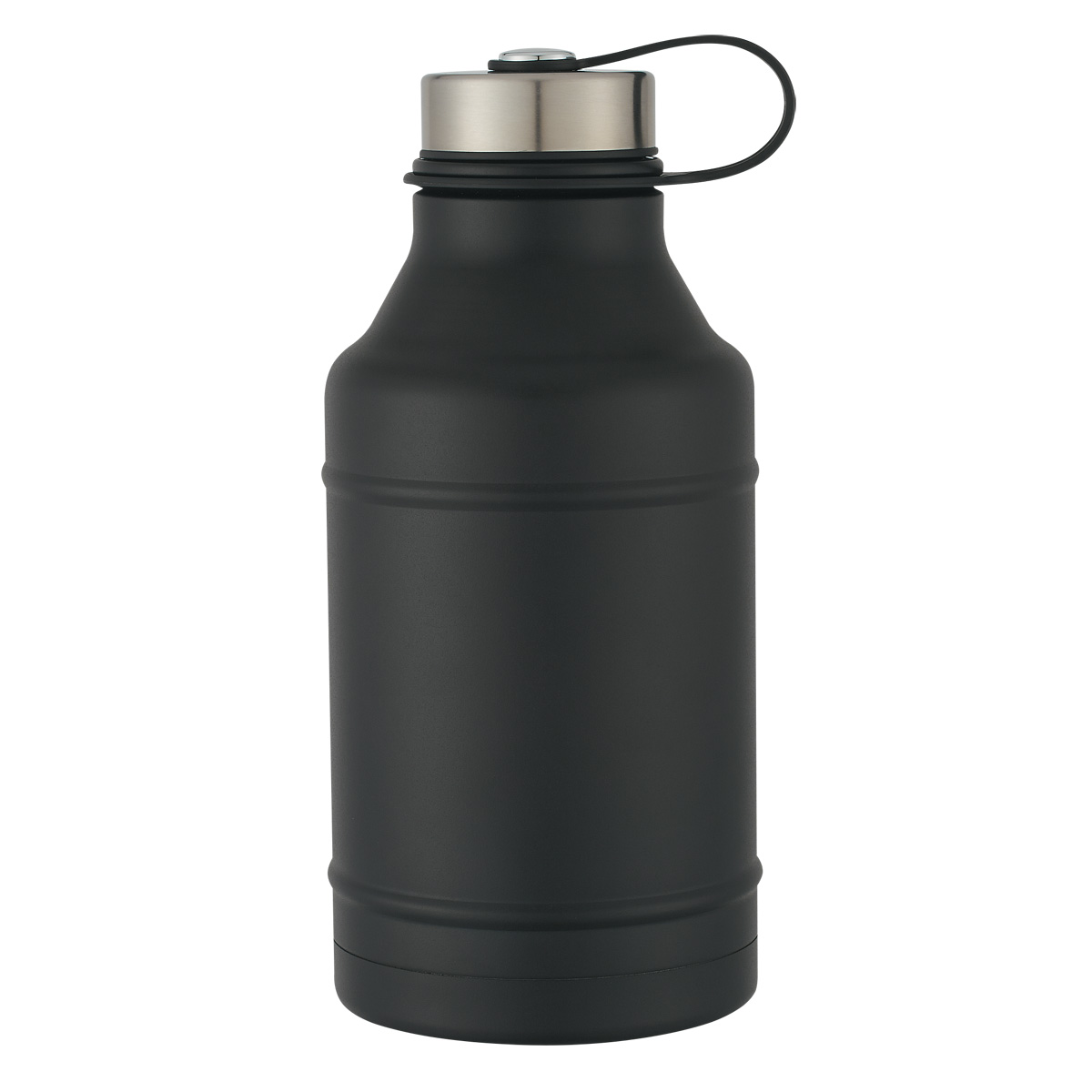 #CM 5729 - 64 Oz. Stainless Steel Wide-Mouth Growler