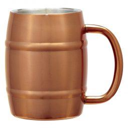 #CM 5751 - 14 Oz. Moscow Mule Barrel Mug