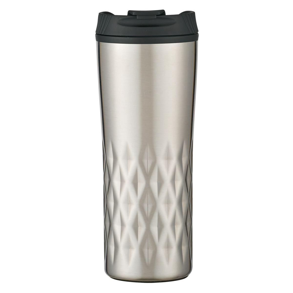#CM 5760 - 16 Oz. Stainless Steel Diamond Tumbler