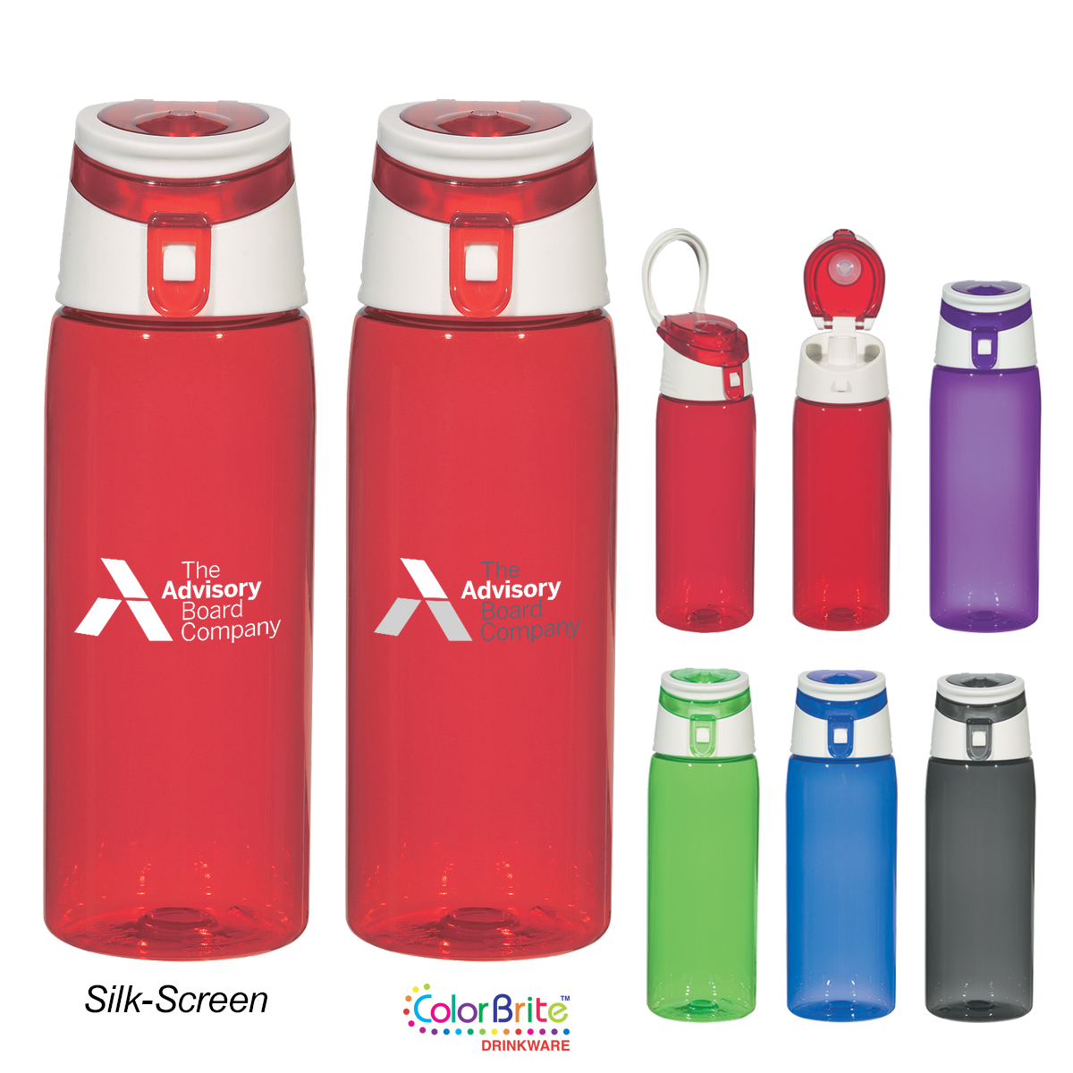 #CM 5835 - 24 Oz. Tritan™ Flip-Top Sports Bottle