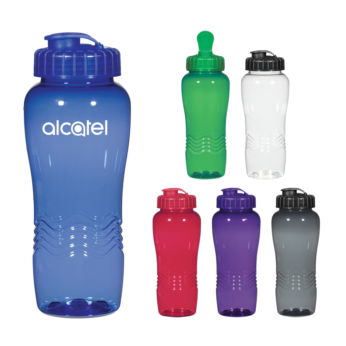 #CM 5893 - 26 Oz. Poly-Clean™ Wave Bottle