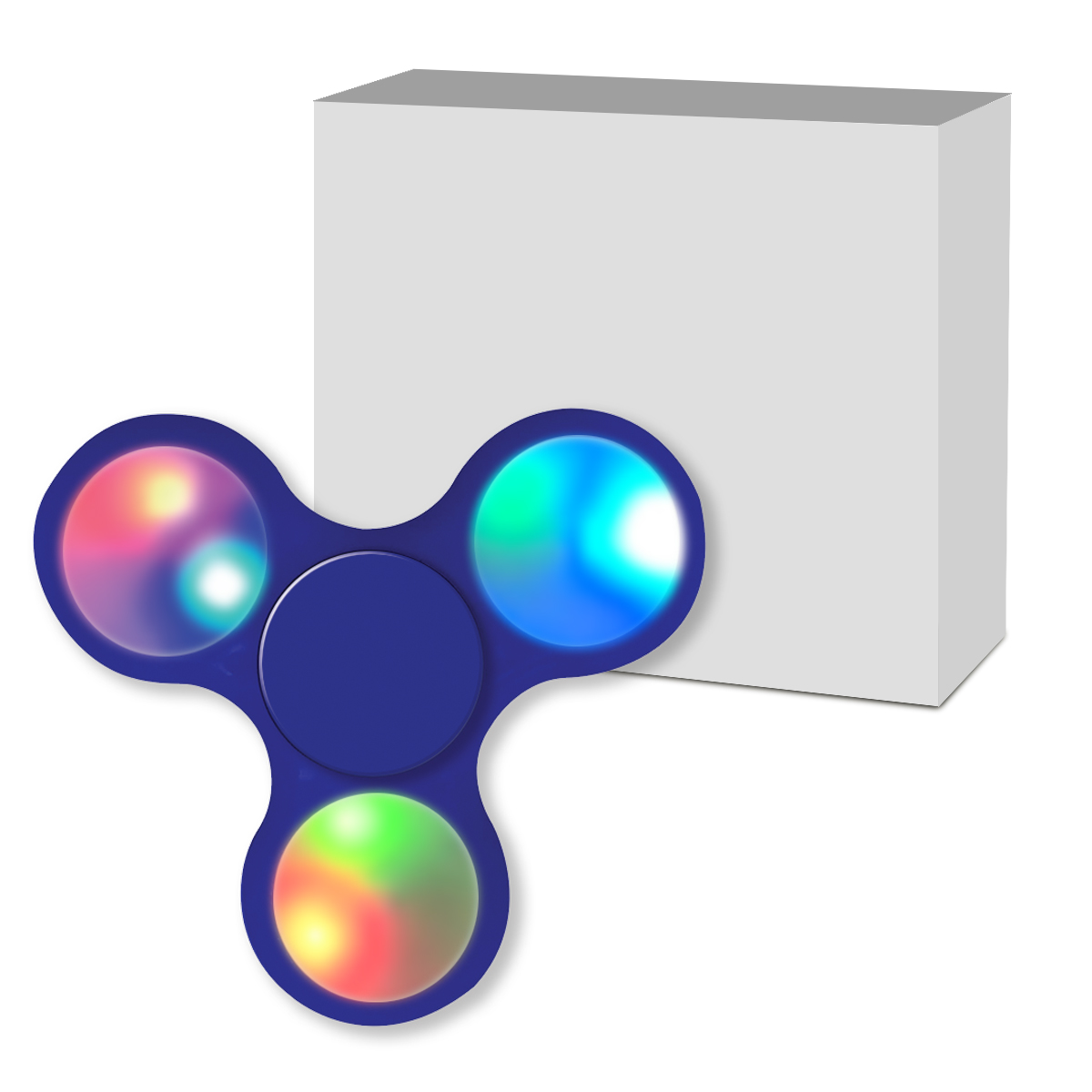 #CM 756P Light Up LED Fun Spinner With Custom Box