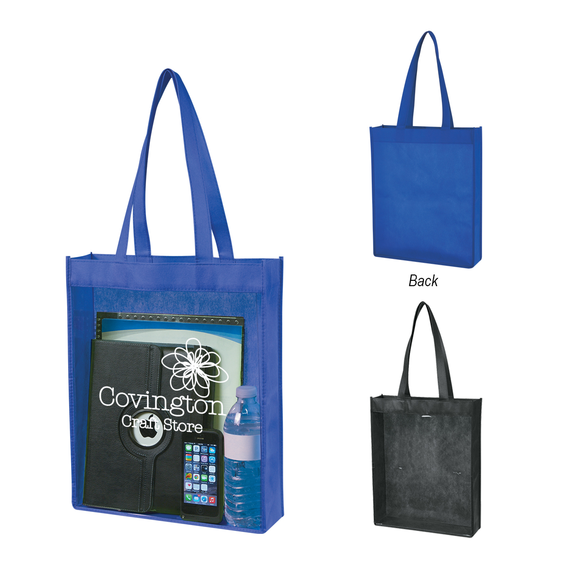 Tote Bags - Clear / NFL Approved