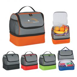 #CM 3513 Two Compartment Lunch Pail Bag