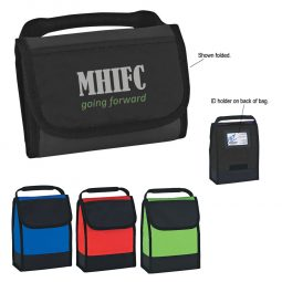 #CM 3515 Folding Identification Lunch Bag