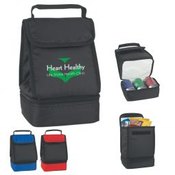 #CM 3517 Dual Compartment Lunch Bag