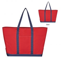 #CM 3640 Two-Tone Mondo Tote Bag