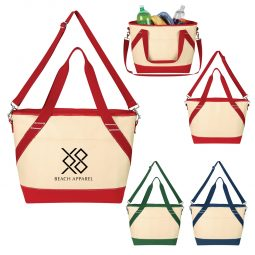 #CM 3730 Canvas Kooler Tote Bag