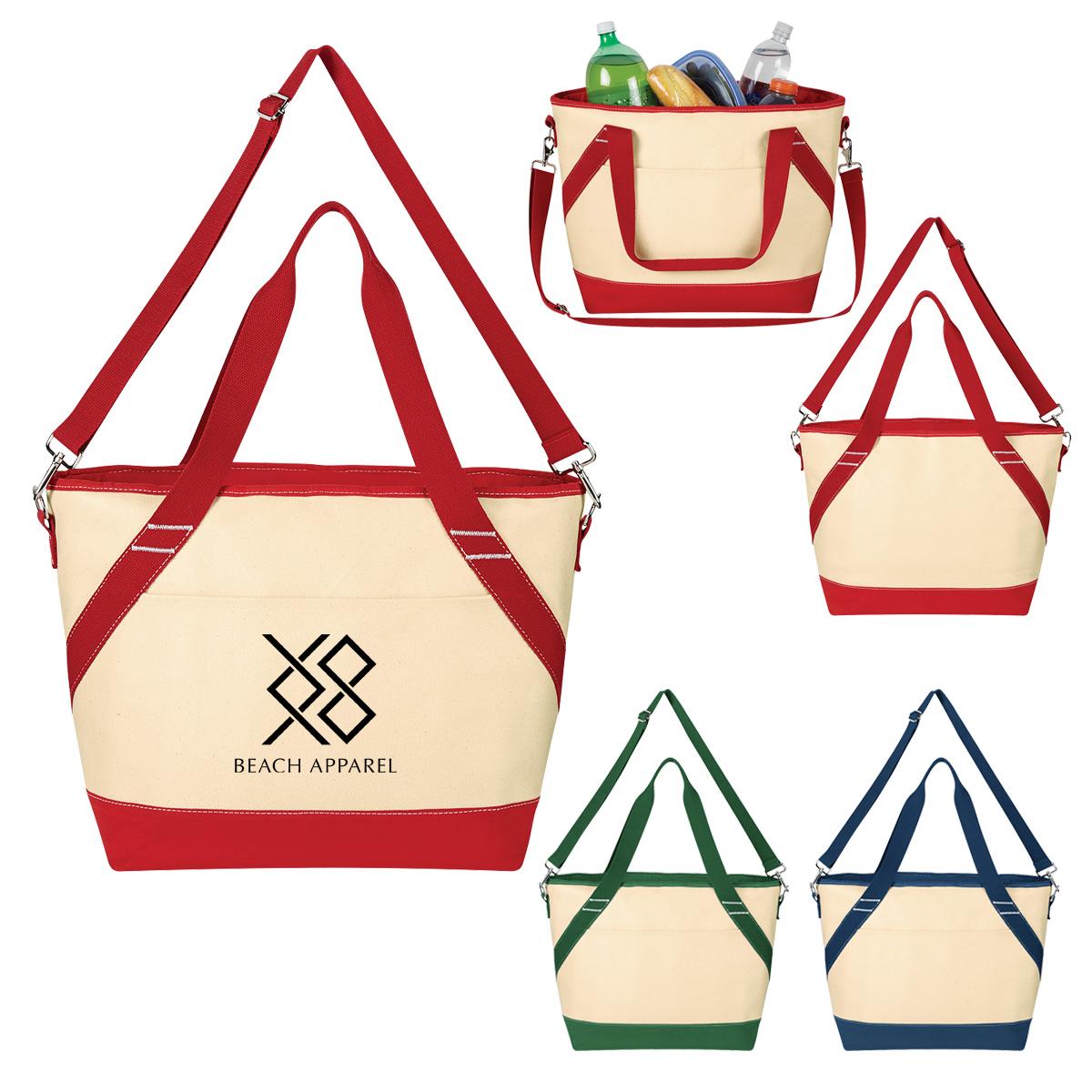 #CM 3730 Canvas Kooler Tote Bag