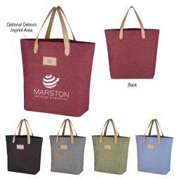#CM 3732 Heathered Tote Bag