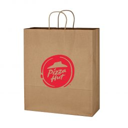 "#CM 3904 Kraft Paper Brown Shopping Bag - 16"" x 19"""