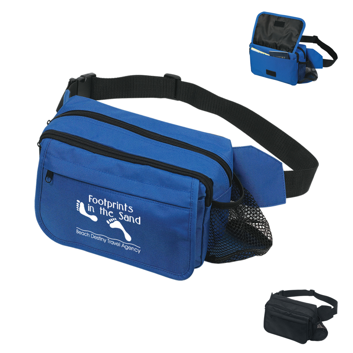#CM 4005 Happy Travels Fanny Pack