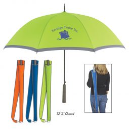 "#CM 4025 - 46"" Arc Two-Tone Umbrella"