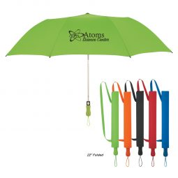 "#CM 4028 - 58"" Arc Telescopic Folding Umbrella"