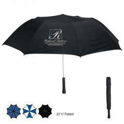 "#CM 4030 - 56"" Arc Giant Telescopic Folding Umbrella"