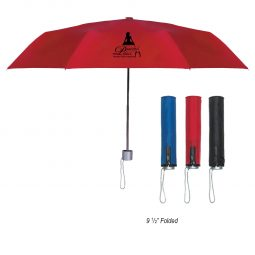 "#CM 4032 - 42"" Arc Trendy Telescopic Folding Umbrella"