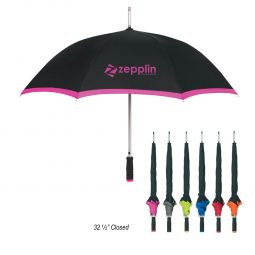 "#CM 4036 - 46"" Arc Edge Two-Tone Umbrella"