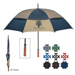 "#CM 4039 - 68"" Arc Windproof Vented Umbrella"