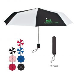 "#CM 4122 - 43"" Arc Super-Mini Telescopic Folding Umbrella"