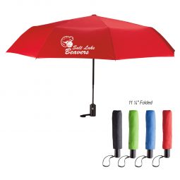 "#CM 4123 - 42"" Arc Automatic Open And Close Folding Umbrella"