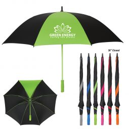 "#CM 4125 - 60"" Arc Splash of Color Golf Umbrella"