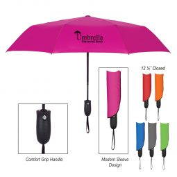 "#CM 4127 - 42"" Arc Telescopic Wave Umbrella"