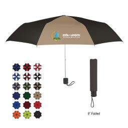 "#CM 4130 - 42"" Arc Budget Telescopic Umbrella"