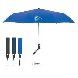 "#CM 4134 - 43"" Arc Telescopic Folding Automatic Open And Close Umbrella"