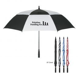 "#CM 4139 - 58"" Arc Windproof Vented Umbrella"