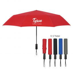 "#CM 4141 - 46"" Arc Automatic Open And Close Folding Umbrella"