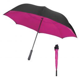 "#CM 4145 - 48"" Arc Two-Tone Inversion Umbrella"