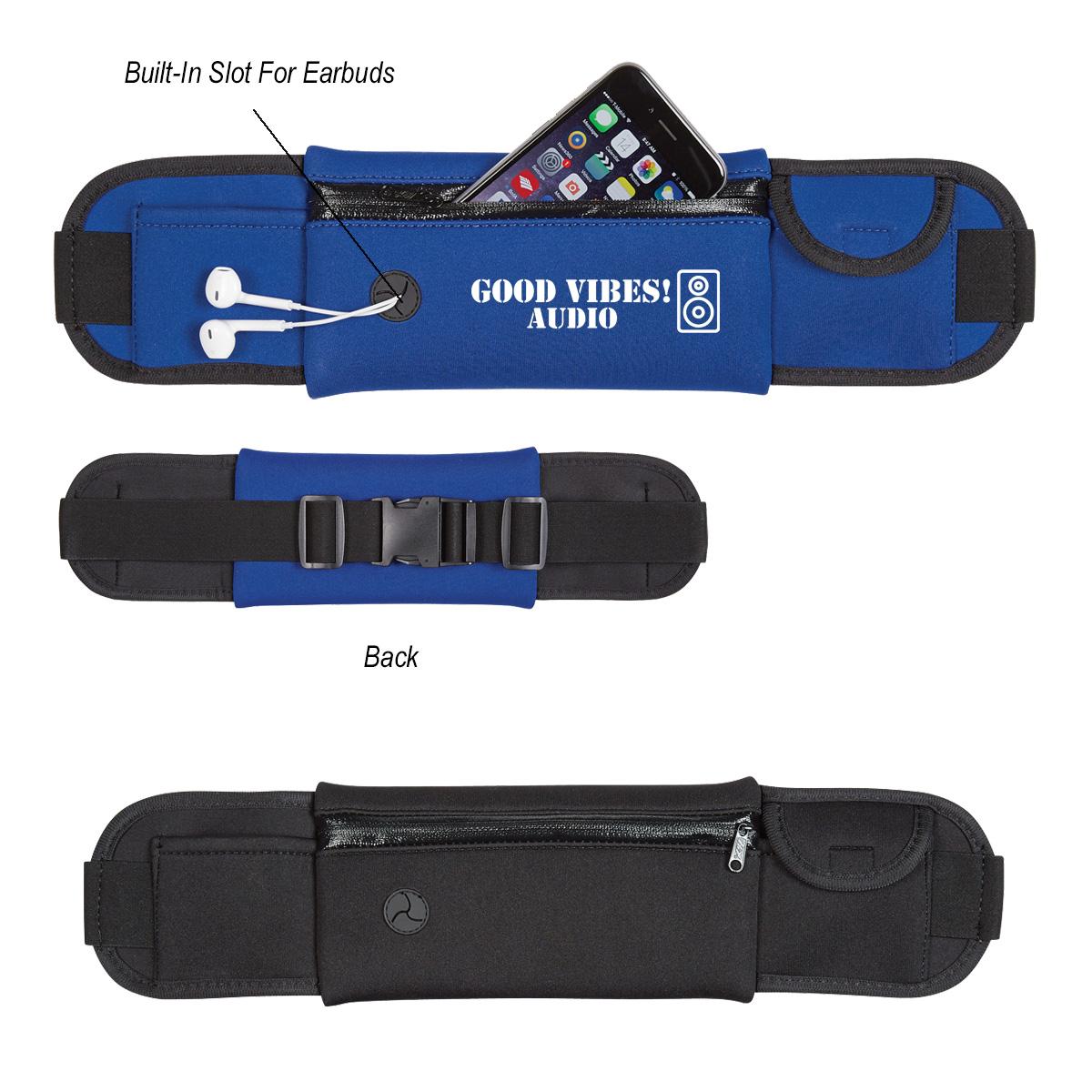 #CM 4205 Neoprene Running Belt Fanny Pack