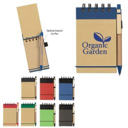 #CM 6110 Eco-Inspired Spiral Jotter & Pen