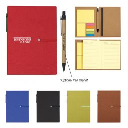#CM 6122 Notebook With Sticky Notes And Pen