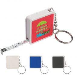 #CM 63 Square Tape Measure Key Tag