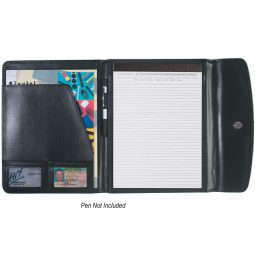 "#CM 6404 Leather Look 8 ½"" x 11"" Portfolio"