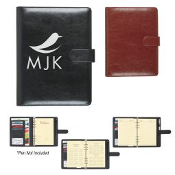 #CM 6410 Leather Look Personal Binder